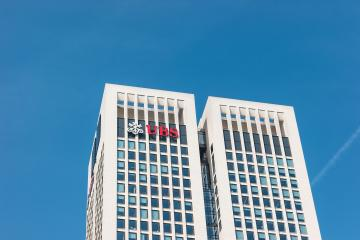 FRANKFURT, GERMANY MARCH, 2017: The UBS bank skyskaper building in the city of Frankfurt. UBS AG is a Swiss global financial services company.- Stock Photo or Stock Video of rcfotostock | RC-Photo-Stock