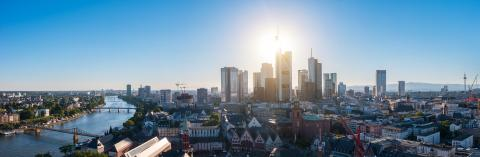 Frankfurt Germany Skyline Panorama- Stock Photo or Stock Video of rcfotostock | RC-Photo-Stock