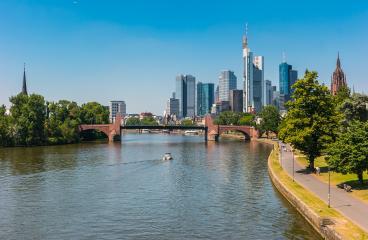 Frankfurt, Germany, the financial center of Germany- Stock Photo or Stock Video of rcfotostock | RC-Photo-Stock