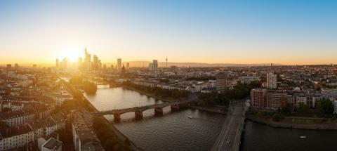 Frankfurt Panorama, germany- Stock Photo or Stock Video of rcfotostock | RC-Photo-Stock