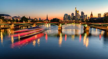 Frankfurt skyline at night : Stock Photo or Stock Video Download rcfotostock photos, images and assets rcfotostock | RC-Photo-Stock.: