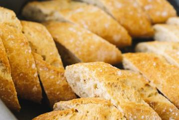 frehs french baguette slices- Stock Photo or Stock Video of rcfotostock | RC-Photo-Stock