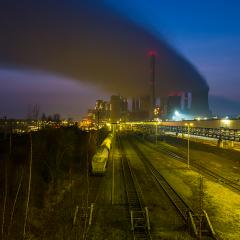 freight depot at a coal power station : Stock Photo or Stock Video Download rcfotostock photos, images and assets rcfotostock | RC-Photo-Stock.: