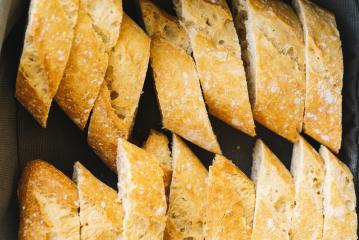 french baguette slices- Stock Photo or Stock Video of rcfotostock | RC-Photo-Stock