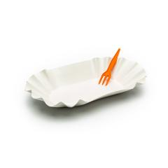 french fries pommes shell with orange fork- Stock Photo or Stock Video of rcfotostock | RC-Photo-Stock