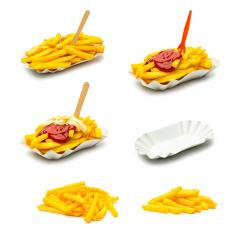 french fries potatos with sauce collage set : Stock Photo or Stock Video Download rcfotostock photos, images and assets rcfotostock | RC-Photo-Stock.: