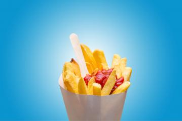 french fries with ketchup  : Stock Photo or Stock Video Download rcfotostock photos, images and assets rcfotostock | RC-Photo-Stock.: