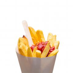 French fries with ketchup in a bag : Stock Photo or Stock Video Download rcfotostock photos, images and assets rcfotostock | RC-Photo-Stock.:
