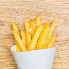 french fries with salt on wood : Stock Photo or Stock Video Download rcfotostock photos, images and assets rcfotostock | RC-Photo-Stock.: