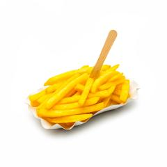 french fries with wodden fork on white : Stock Photo or Stock Video Download rcfotostock photos, images and assets rcfotostock | RC-Photo-Stock.: