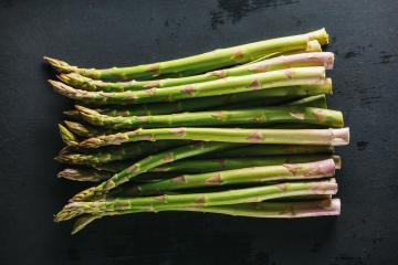 Fresh asparagus on dark background : Stock Photo or Stock Video Download rcfotostock photos, images and assets rcfotostock | RC-Photo-Stock.: