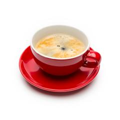 Fresh brewed coffee on whte- Stock Photo or Stock Video of rcfotostock | RC-Photo-Stock