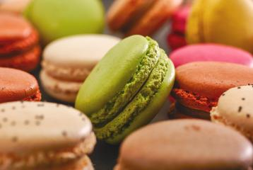 Fresh bright colored Macarons- Stock Photo or Stock Video of rcfotostock   RC-Photo-Stock