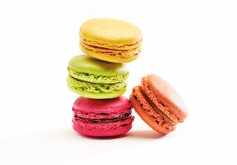 Fresh bright colored Macarons insolated on white- Stock Photo or Stock Video of rcfotostock | RC-Photo-Stock