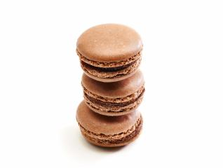 Fresh bright colored Macarons insolated on white- Stock Photo or Stock Video of rcfotostock   RC-Photo-Stock