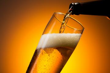 fresh cold beer is pouring in to a glass - Stock Photo or Stock Video of rcfotostock | RC-Photo-Stock