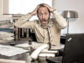 Furious Businessman, mouth open- Stock Photo or Stock Video of rcfotostock | RC-Photo-Stock