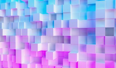 Futuristic Sci-Fi Modern cube background with Purple And Blue Glowing Neon light, Wallpaper background- Stock Photo or Stock Video of rcfotostock | RC-Photo-Stock