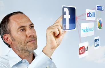 Futuristic social networking - Stock Photo or Stock Video of rcfotostock | RC-Photo-Stock