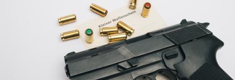 gas pistol (Kleiner Waffenschein)- Stock Photo or Stock Video of rcfotostock | RC-Photo-Stock