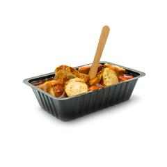 german currywurst in a black shell- Stock Photo or Stock Video of rcfotostock | RC-Photo-Stock