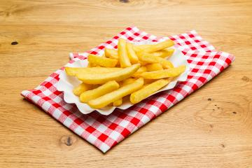 german fries on a tablecloth- Stock Photo or Stock Video of rcfotostock | RC-Photo-Stock