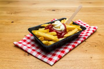 german fries with ketchup and mayo : Stock Photo or Stock Video Download rcfotostock photos, images and assets rcfotostock | RC-Photo-Stock.: