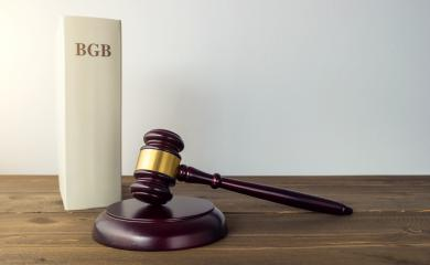 German law book (BGB) with Gavel - justice concept image  - Stock Photo or Stock Video of rcfotostock | RC-Photo-Stock
