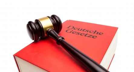 German law book (Deutsche gesetzte) with Gavel on white backgorund- Stock Photo or Stock Video of rcfotostock | RC-Photo-Stock
