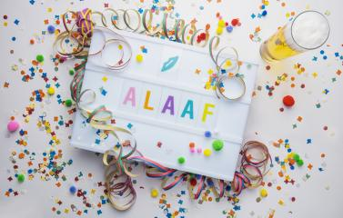 """german street Carnival vintage lightbox with the word """"Alaaf"""", concept image : Stock Photo or Stock Video Download rcfotostock photos, images and assets rcfotostock 