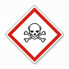 GHS hazard pictogram - ACUTE TOXICITY , hazard warning sign acute toxicity on white background. Vector illustration. Eps 10 vector file.- Stock Photo or Stock Video of rcfotostock | RC-Photo-Stock
