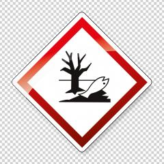 GHS hazard pictogram - HAZARDOUS TO AQUATIC ENVIRONMENT , hazard warning sign HAZARDOUS TO AQUATIC ENVIRONMENT on checked transparent background. Vector illustration. Eps 10 vector file. : Stock Photo or Stock Video Download rcfotostock photos, images and assets rcfotostock | RC-Photo-Stock.: