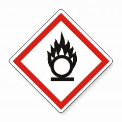GHS hazard pictogram - OXIDISING , hazard warning sign oxidising on white background. Vector illustration. Eps 10 vector file. : Stock Photo or Stock Video Download rcfotostock photos, images and assets rcfotostock | RC-Photo-Stock.: