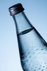 Glass bottle of water with dew drops- Stock Photo or Stock Video of rcfotostock | RC-Photo-Stock