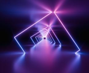 glowing lines, tunnel, neon lights, virtual reality, abstract background, square portal, arch, pink blue spectrum vibrant colors, laser show : Stock Photo or Stock Video Download rcfotostock photos, images and assets rcfotostock | RC-Photo-Stock.: