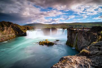 Godafoss waterfall in iceland : Stock Photo or Stock Video Download rcfotostock photos, images and assets rcfotostock | RC-Photo-Stock.: