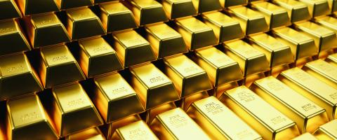 Gold bars and Financial concept, banner size- Stock Photo or Stock Video of rcfotostock | RC-Photo-Stock