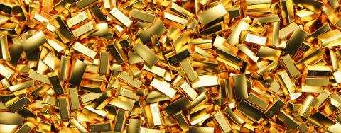 Gold bars in bank vault. Storage, banner size- Stock Photo or Stock Video of rcfotostock | RC-Photo-Stock