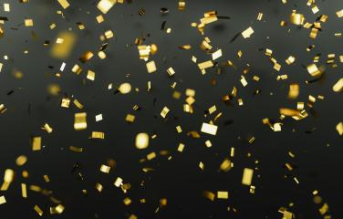 Gold glitter texture on black background. Golden explosion of confetti. Golden grainy abstract texture on black background.- Stock Photo or Stock Video of rcfotostock | RC-Photo-Stock