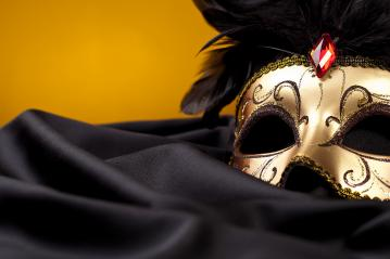 gold mask on black silk : Stock Photo or Stock Video Download rcfotostock photos, images and assets rcfotostock | RC-Photo-Stock.: