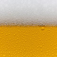 Golden Beer foam crown drink alcohol with waterdrops of condensation- Stock Photo or Stock Video of rcfotostock | RC-Photo-Stock