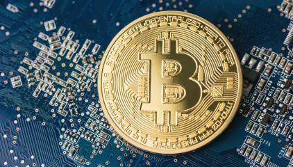 Golden Bitcoin - new virtual money- Stock Photo or Stock Video of rcfotostock | RC-Photo-Stock