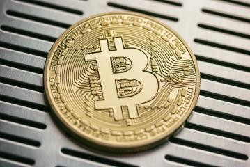 Golden bitcoin with metallic background. conceptual image for crypto currency.- Stock Photo or Stock Video of rcfotostock | RC-Photo-Stock