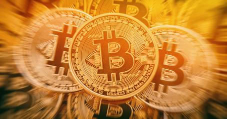 Golden bitcoins heap. conceptual image for crypto currency.- Stock Photo or Stock Video of rcfotostock | RC-Photo-Stock