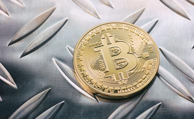 Golden Bitcoins on a metallic background- Stock Photo or Stock Video of rcfotostock | RC-Photo-Stock