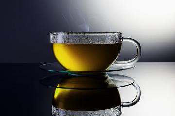 golden hot tea in a teacup- Stock Photo or Stock Video of rcfotostock | RC-Photo-Stock