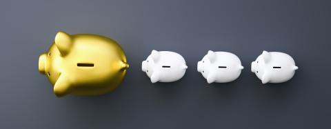 golden piggy bank as row leader, investment and development concept image : Stock Photo or Stock Video Download rcfotostock photos, images and assets rcfotostock | RC-Photo-Stock.: