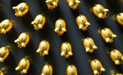 golden piggy banks as row leadership, investment and development concet image : Stock Photo or Stock Video Download rcfotostock photos, images and assets rcfotostock | RC-Photo-Stock.: