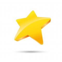 golden star, Glossy yellow 3D trophy star icon. Symbol of leadership or rating. Vector illustration. Eps 10 vector file. : Stock Photo or Stock Video Download rcfotostock photos, images and assets rcfotostock | RC-Photo-Stock.: