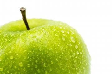 green apple with water drops- Stock Photo or Stock Video of rcfotostock | RC-Photo-Stock